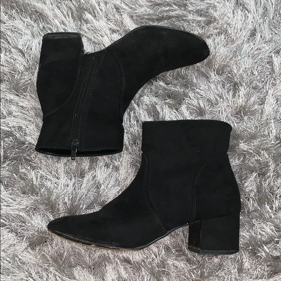 Express Suede Ankle Boots   Poshmark